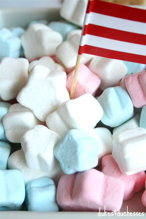 marshmello stars s mores bar for the 4th of july dukes and duchesses