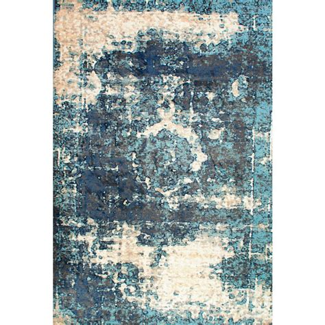 9 X 11 Area Rugs Nuloom Vintage Lindsy Blue 5 Ft 11 In X 9 Ft Area Rug Owtc01a 51109 The Home Depot