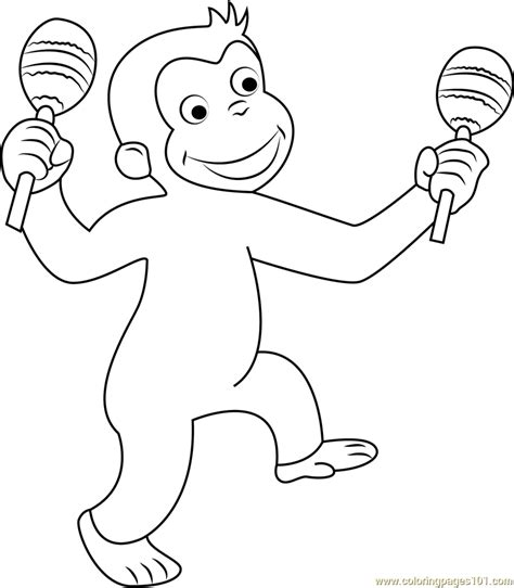 merry christmas curious george coloring pages coloring pages the curious george flying with balloons