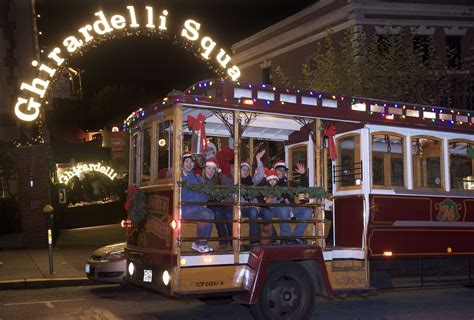 san francisco christmas tours see the holiday lights in