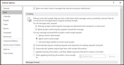 Office 365 Outlook Read Receipt Outlook Preview Emails Without Marking As Read Or Sending