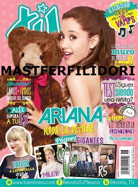 revista de chimento 2016 ariana grande revista tu de septiembre 2014 49 99 en