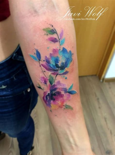 watercolor tattoo facebook 618 best my work watercolor tattoos images on