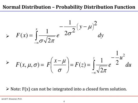 probability distribution function ppt special continuous probability distributions normal