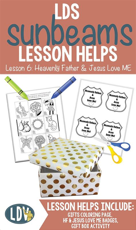 sugardoodle lesson ideas 25 best ideas about sunbeam lessons on lds