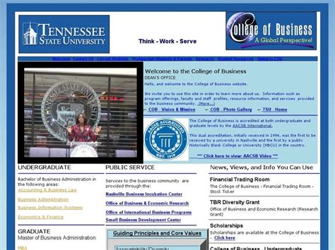 Of Tennessee Mba Salary by Tennessee State College Of Business Ranking