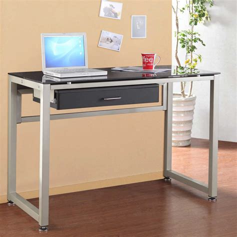 glass top desk with drawers glass top office desk with drawers a beautiful desk with