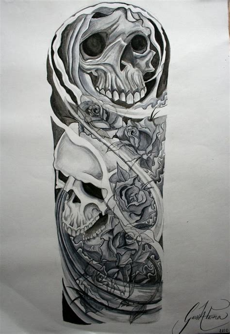 black and white half sleeve tattoo designs tattoos half sleeve designs black and white amazing