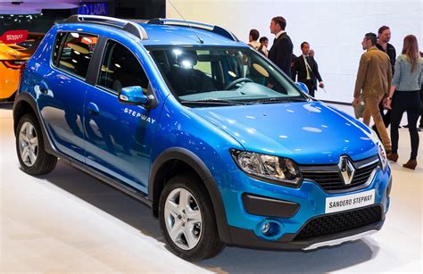 renault stepway renault will build logan sandero and sandero stepway in