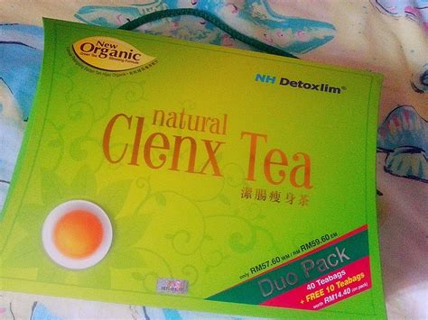 Teh Detox Clenx Tea by Live Laugh Nh Detoxlim Clenx Tea Review