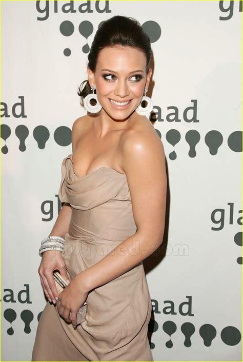 Hudson Hilary Duff Spice Up Glaad Awards hilary duff is glaad photo 71731 hilary duff pictures