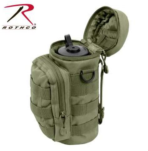 Topi Army Topi 511 Tactical Blackhawk Militer Premium rothco molle compatible water bottle pouch