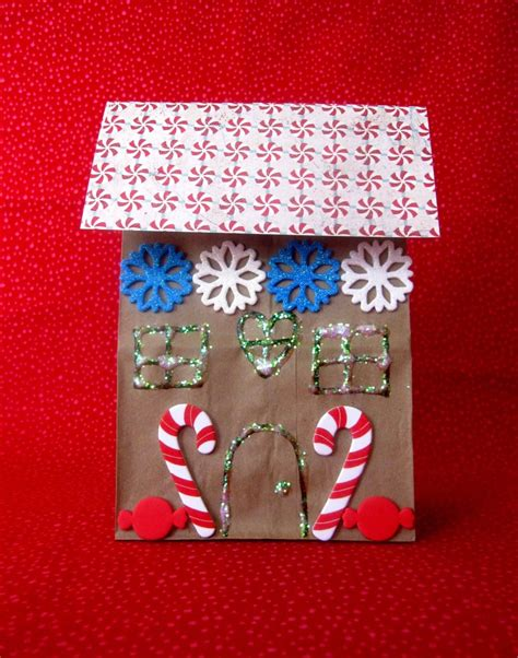 Gingerbread House Paper Craft - gingerbread storytime sturdy for common things