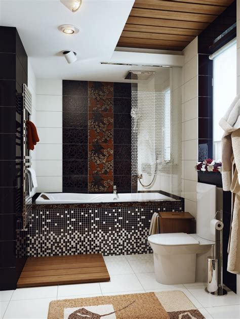brown and white bathroom ideas black white brown bathroom interior design ideas