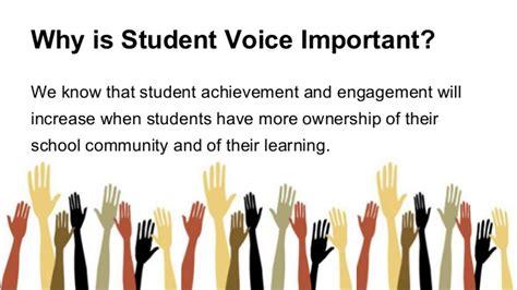 student voices student voice