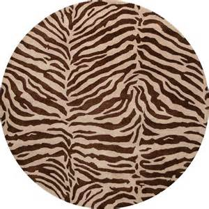 Zebra Print Area Rug Bashian Brothers Chocolate Brown Zebra Print 8 Greenwich Area Rug