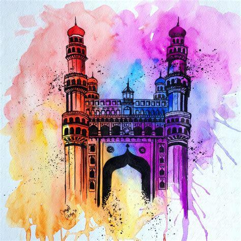 Charminar Hyderabad By Another Scarlet On Deviantart