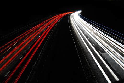 free images black and white bridge night line red