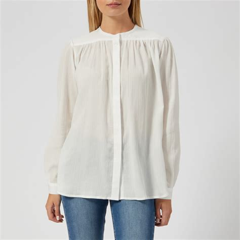 Blouse Polos Serena a p c s serena blouse white free uk delivery