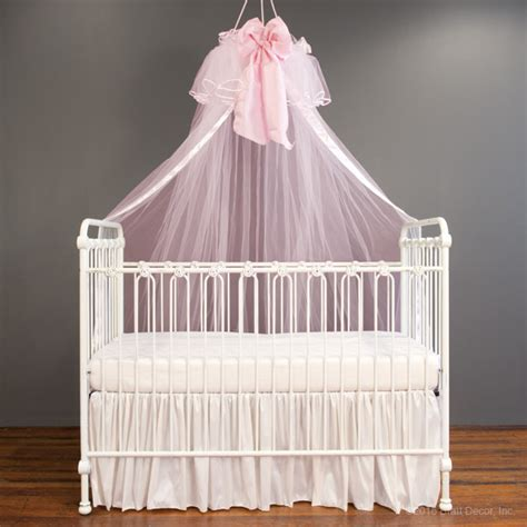Pink Crib Canopy by Pink Crib Canopy