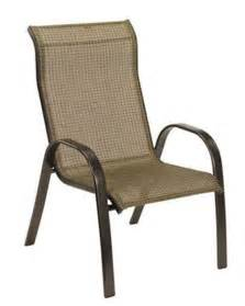 Stackable Sling Patio Chairs by Set Of 8 Living Accents Quot Metropolitan Quot Stacking Sling