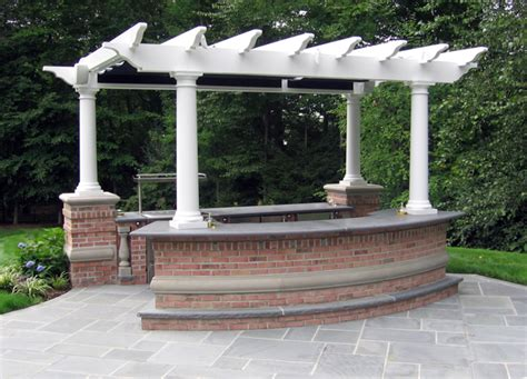 backyard bar and grill ideas bbq outdoor kitchens nj built in grill fireplace design ideas