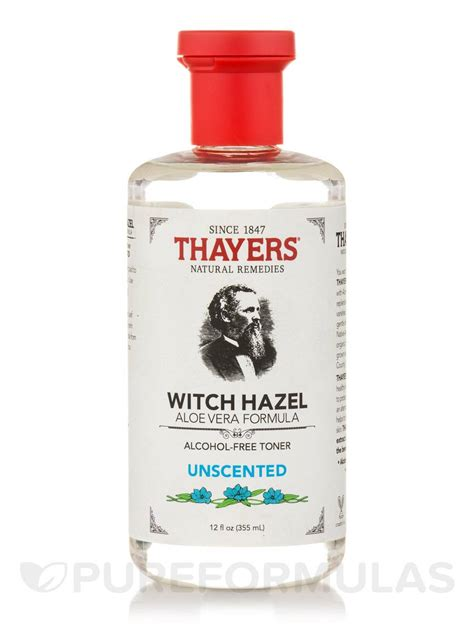 12 Best Toners by Witch Hazel Aloe Vera Formula Unscented Free