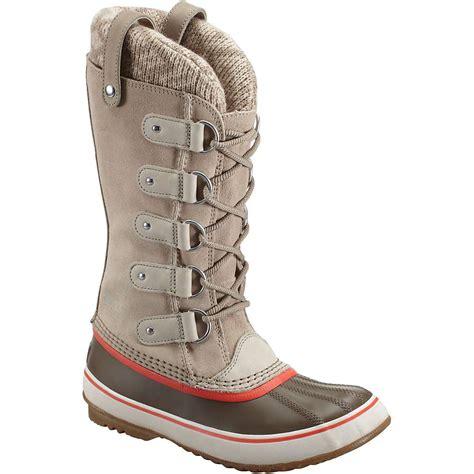 sorel womens boots joan of arctic sorel s joan of arctic knit boot at moosejaw