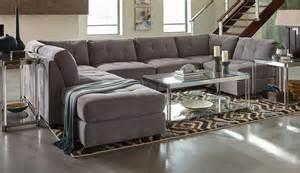 Coaster Sectional Sofa Coaster Claude Sectional Sofa Set Dove 551004 Sectional Set At Homelement