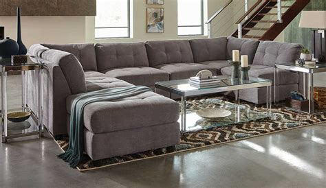 Coaster Sectionals by Coaster Claude Sectional Sofa Set Dove 551004 Sectional