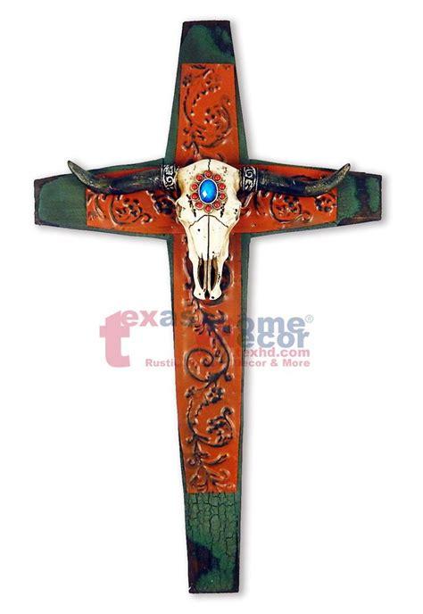 cross home decor western longhorn steer buckle cross 25 best western texas longhorn decor images on pinterest