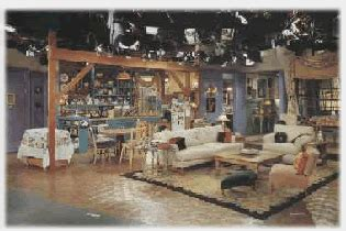 monica s apartment another view of chandler and monica s apartment
