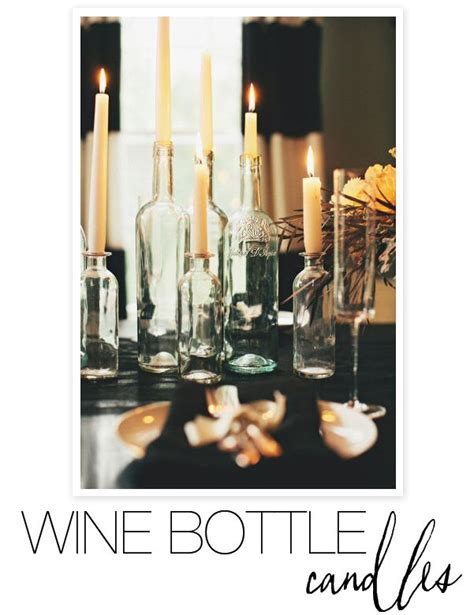 wine birthday candle diy wine bottle get the instructions right here