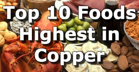 Copper Detox Foods by Top 10 Foods Highest In Copper Copper Aids In The