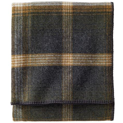 Wool Pendleton pendleton oxford plaid eco wise washable wool blanket