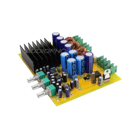 ma ta03 class d lifier 2 1 board tas5630b 2x 150w 1x 300w 4 ohm audiophonics