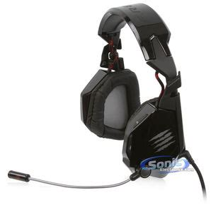 Pc Mad Catz Freqm Wired Gloss Black mad catz f r e q 5 stereo gaming headset pc and mac headphones gloss black