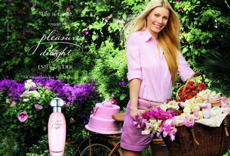 Gwyneth Paltrows New Pleasure Ads by Est 233 E Lauder Pleasures Delight Perfume Review