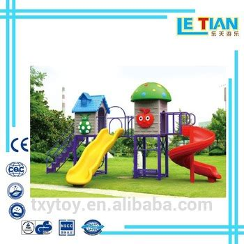 plastic swing and slide playset outdoor plastic swing sets and slide for kids on sale