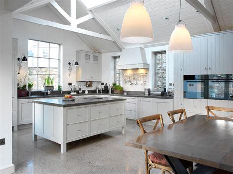 luxurious loft conversion contemporary kitchen