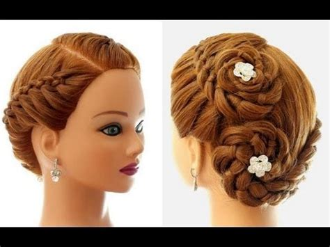 everyday hairstyles bebexo hairstyle for everyday 4 strand braid updo for long