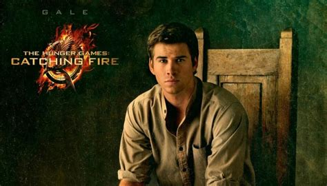 THE HUNGER GAMES: CATCHING FIRE Four New Character Posters! Liam Hemsworth The Hunger Games Character