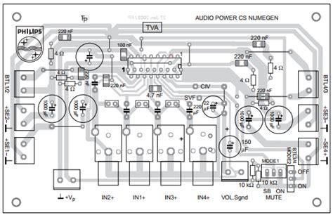 Tda8947j tda8947j audio lifier 29w lifiercircuits