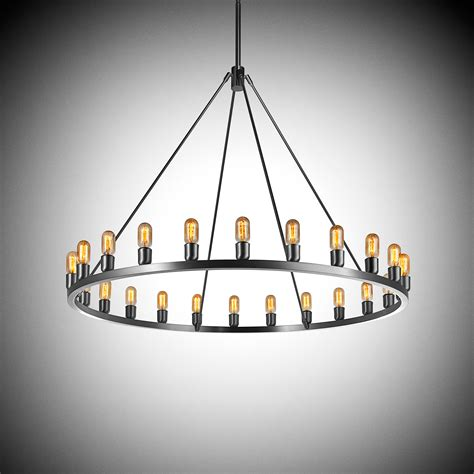 Light Fixtures Contemporary Spark 48 Contemporary Chandelier Light Fixture
