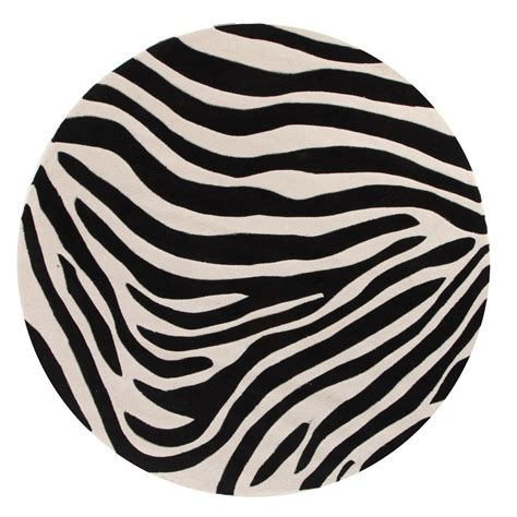 black and white circle rug gem zebra rug black and white beyond bright
