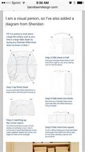 how to fold a bed sheet diagram for folding fitted sheet housekeeping