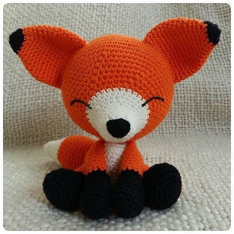 pattern crochet fox ami animals friends pattern collection cre8tion crochet