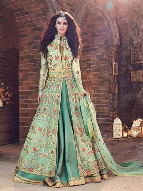 Green Ethnic Dress which ethnic dress do you wear for winter weddings quora