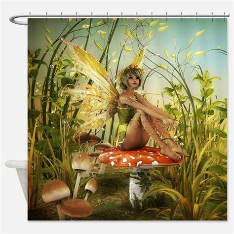 fairy curtains fairy shower curtains fairy fabric shower curtain liner