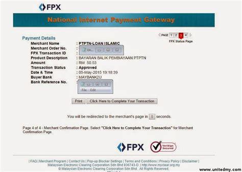 Gst Credit Formula Ptptn Payment Through Fpx Charged 6 Gst Unitedmy
